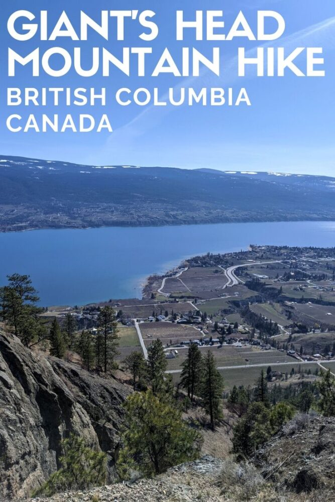 Giant's Head Mountain, Summerland, is one of our favourite quick hikes (3.2km return) in southern British Columbia, Canada. It's a workout with an awesome payoff! offtracktravel.ca