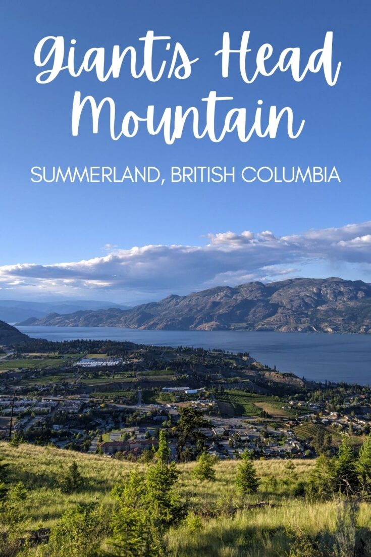 Giant's Head Mountain is the ideal destination for a quick hike in the southern Okanagan region of British Columbia, Canada. Not only super easy to access, there's a range of interconnecting hiking trails so you can 'choose your own adventure' to reach the summit! Click here to discover everything you need to know about hiking Giant's Head Mountain. offtracktravel.ca