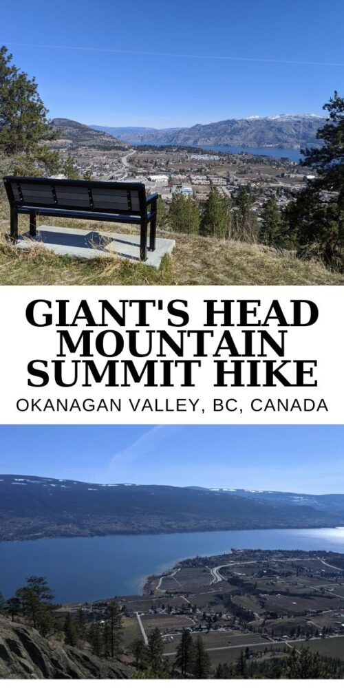 Giant's Head Mountain, Summerland, is one of our favourite quick hikes (3.2km return) in southern British Columbia, Canada. It's a workout with an awesome payoff - a must try when visiting the area! offtracktravel.ca