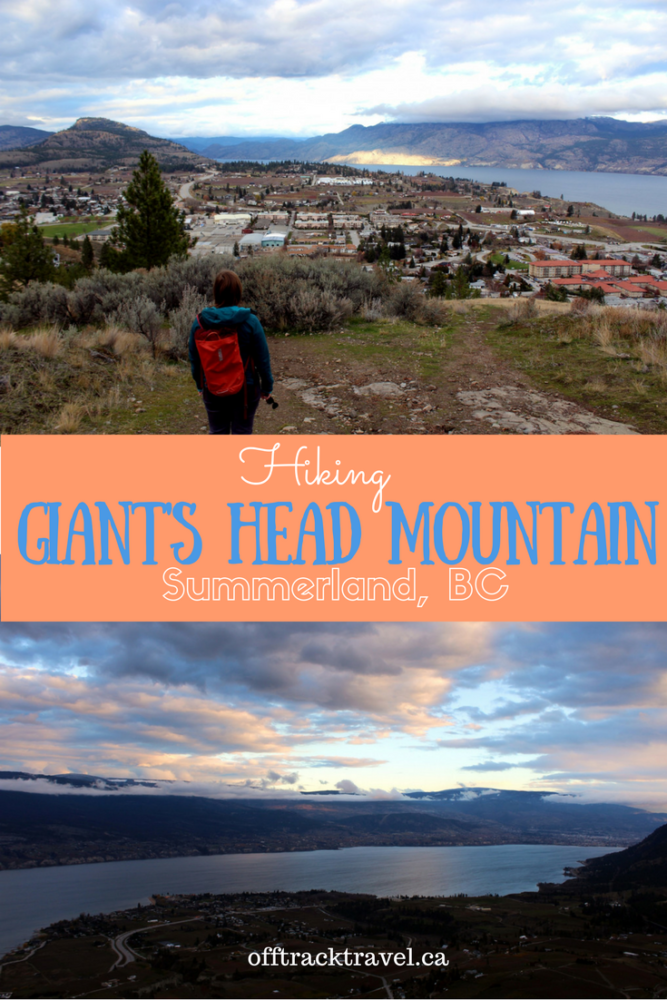 Hiking Giants Head Mountain in Summerland British-Columbia