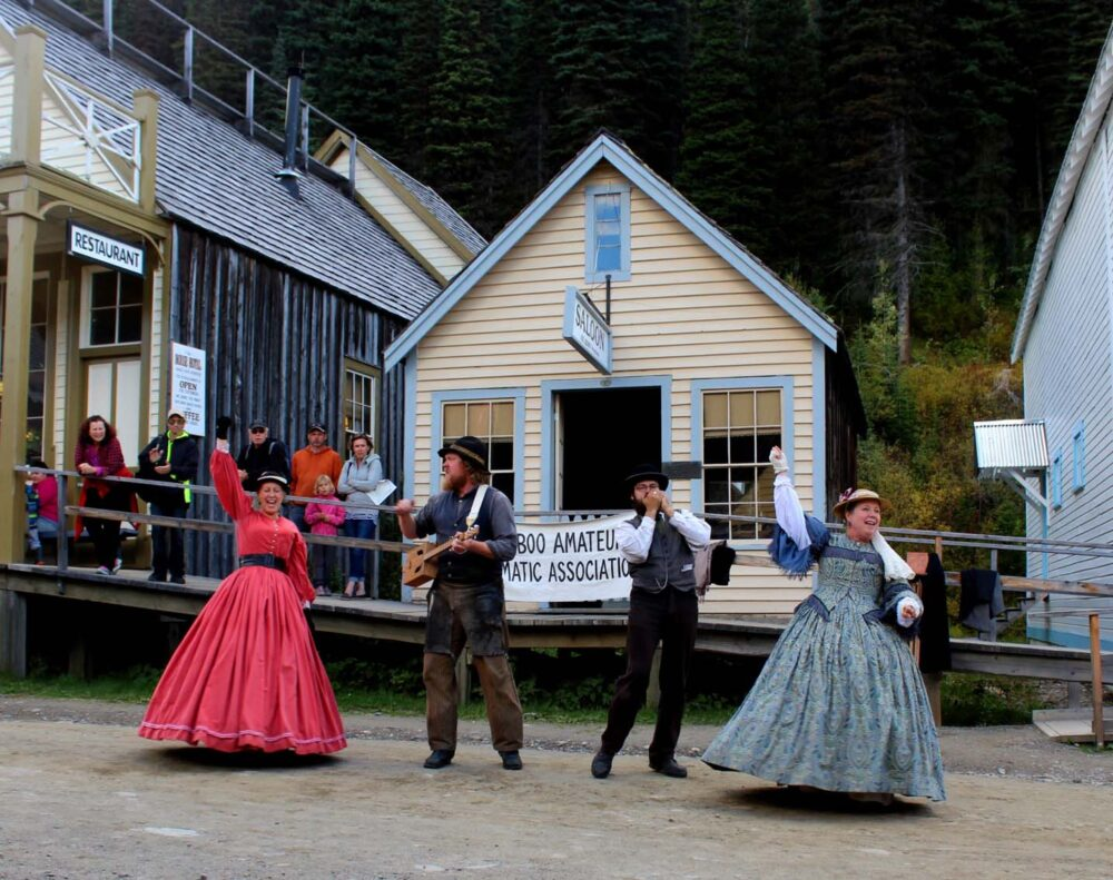 cariboo amateur dramatic association barkerville bc