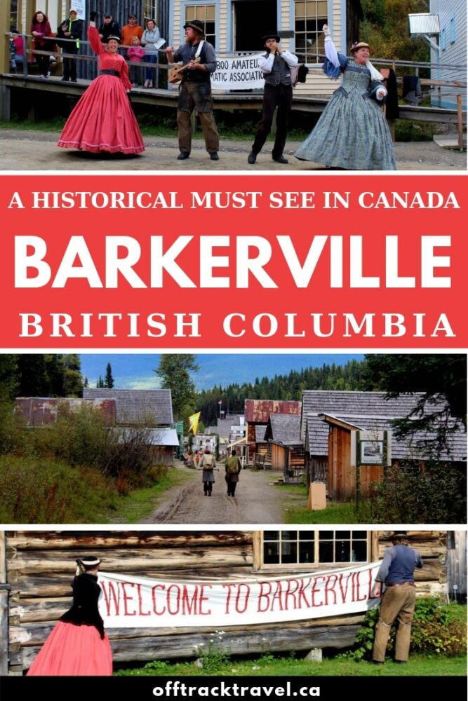 British Columbia's Barkerville isn't any old museum. It's a living and breathing historical gold mining town, lovingly restored and operated as a non-profit.And it's probably one of the best museums I've ever been to. Click here to discover more about the Cariboo Gold Rush and why you simply must make a stop at Barkerville Historic Town when visiting northern BC, Canada.