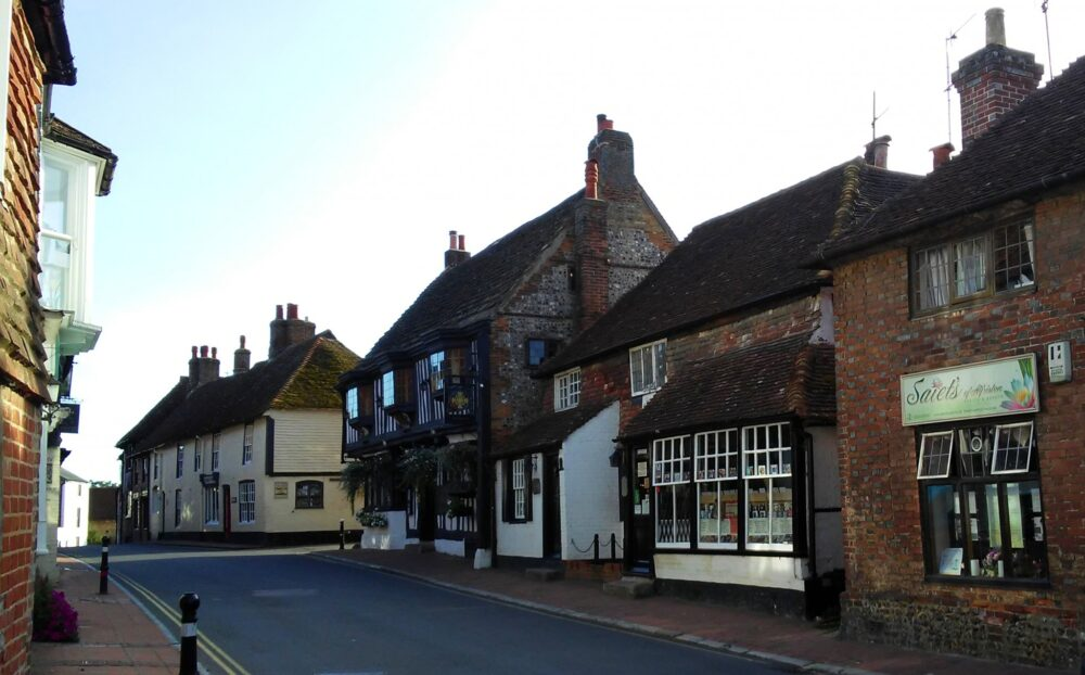 Alfriston in East Sussex