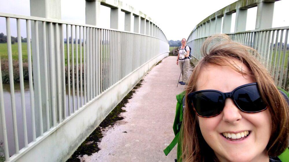 Walking the South Downs Way - Amberley bridge