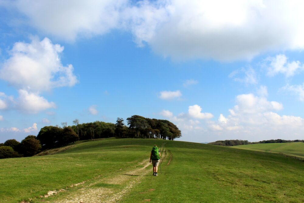 Walking the South Downs Way - Chantonbury Ring