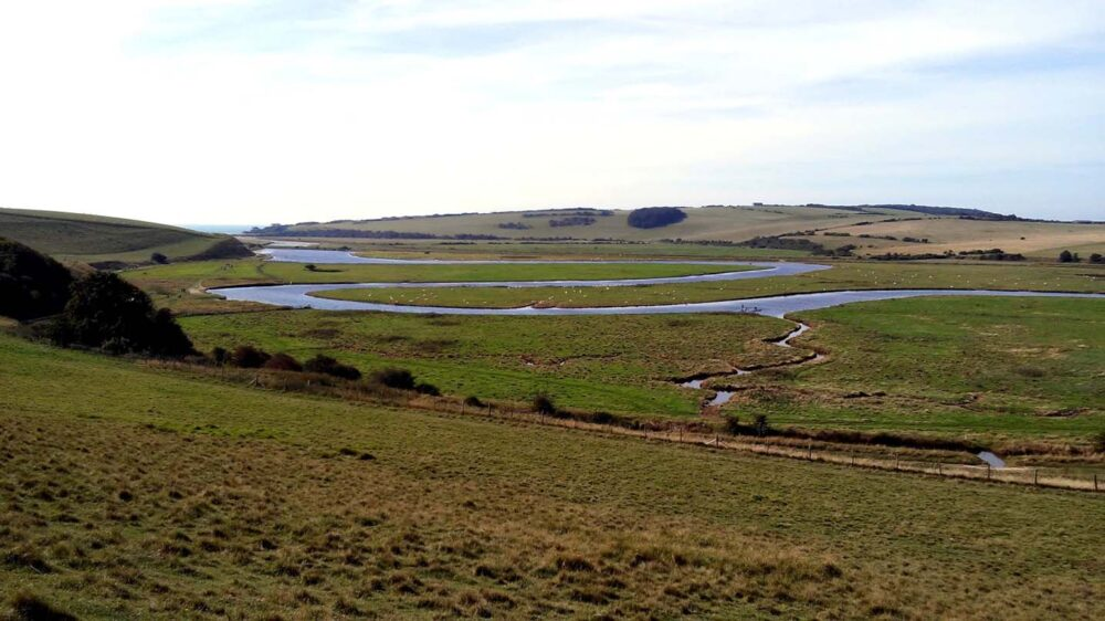 Cuckmere haven east sussex south downs way