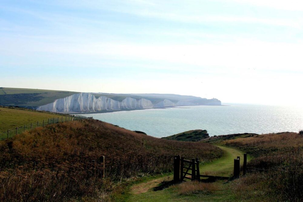 Walking the South Downs Way - Seven Sisters
