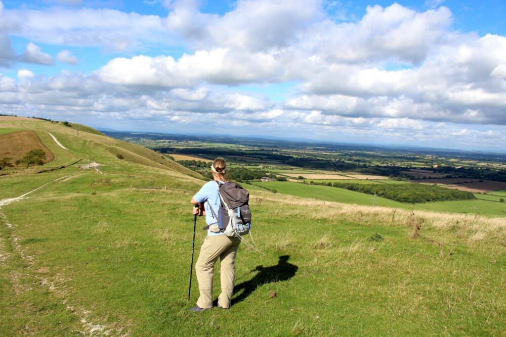 Walking the South Downs Way - Views from the trail