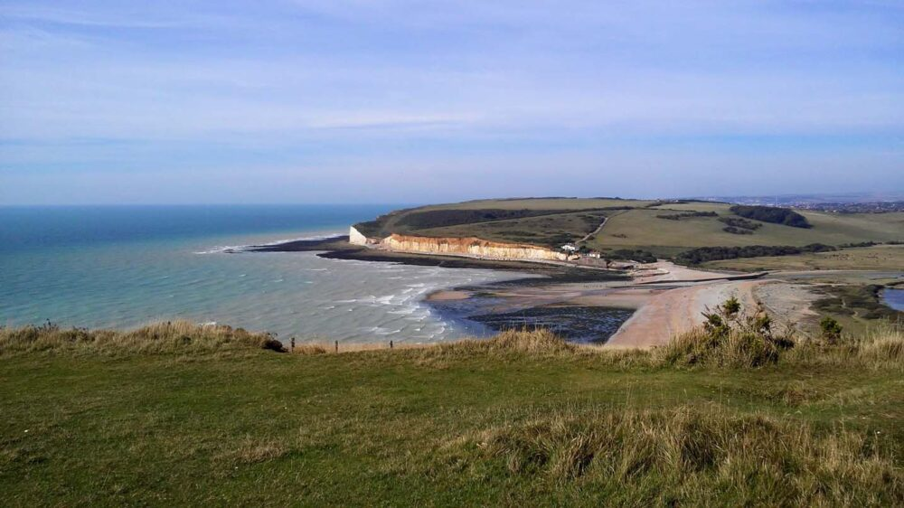 How to Walk the South Downs Way - South Downs Way Advice - Start of Seven Sisters