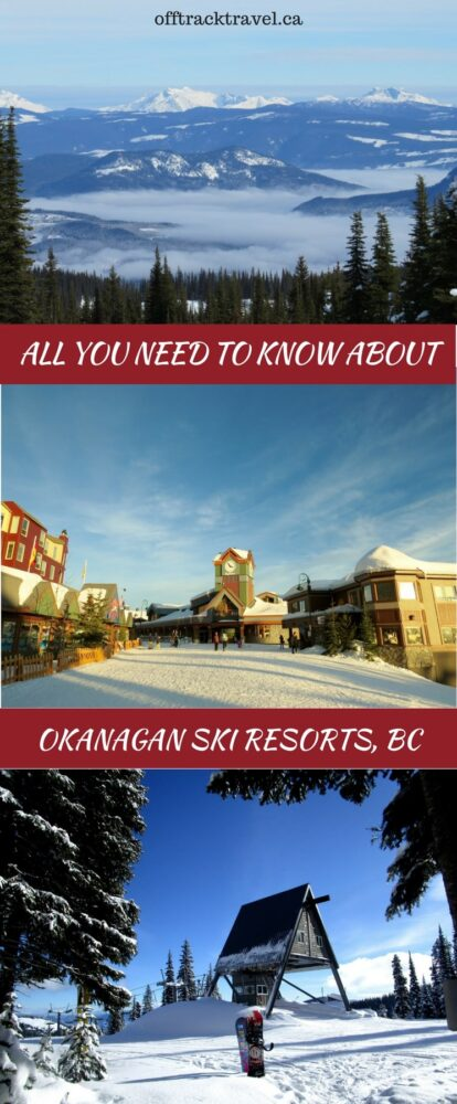 Ski resorts in the Okanagan are rightfully famous for their light, dry champagne powder. All five of the Okanagan Valley ski resorts receive around approximately 600-700cm of the beautiful stuff every year. If you're heading to the Okanagan Valley but not sure where to go, here's some pointers on the best of each to help make your decision (or you could just visit them all). offtracktravel.ca