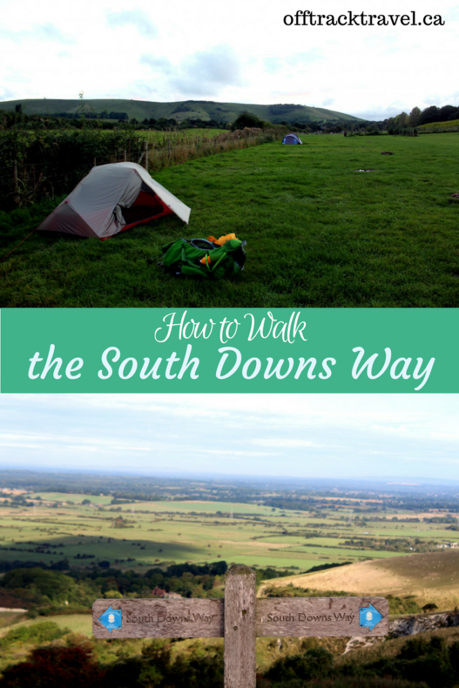 How to walk the south down way