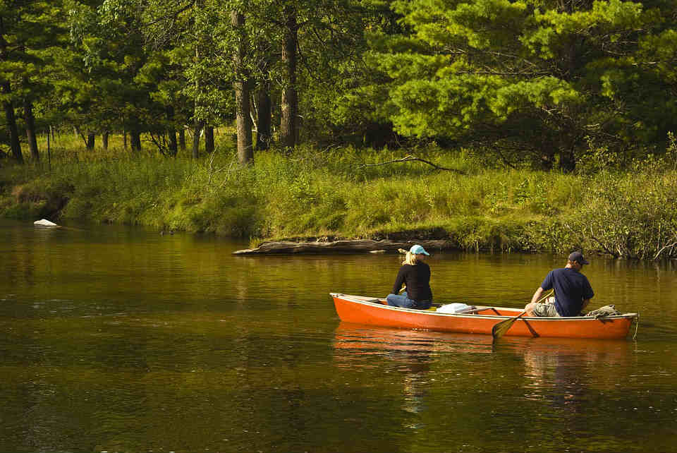 canadian canoe trips