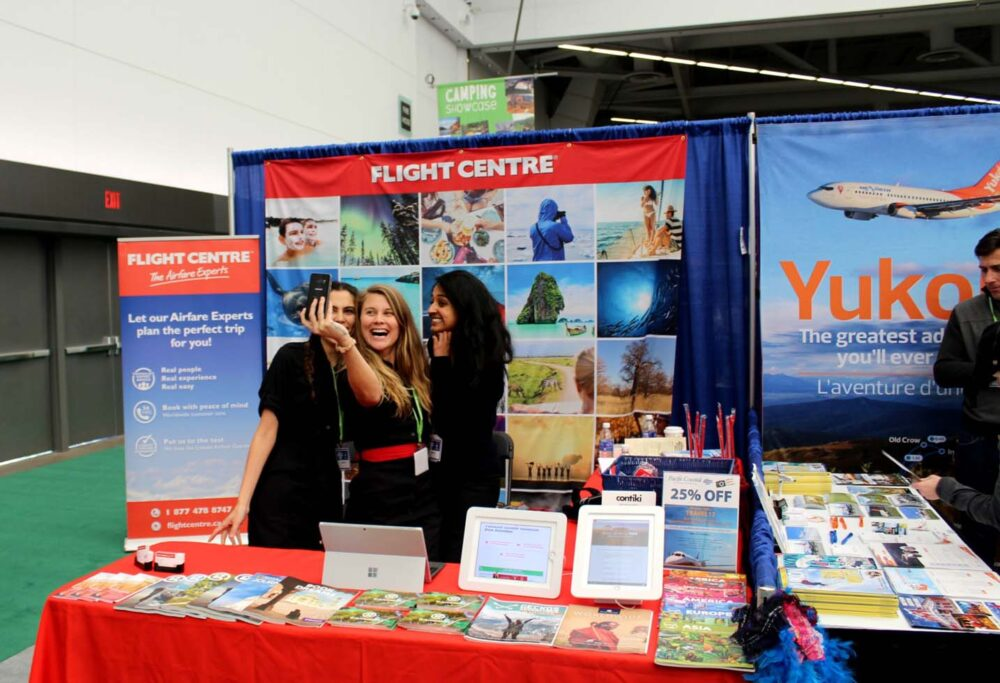 flight centre vancouver outdoor adventure and travel show