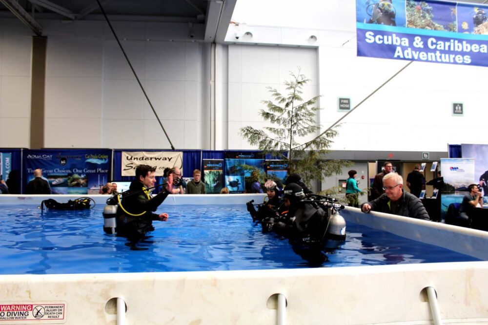 scuba diving vancouver outdoor adventure and travel show