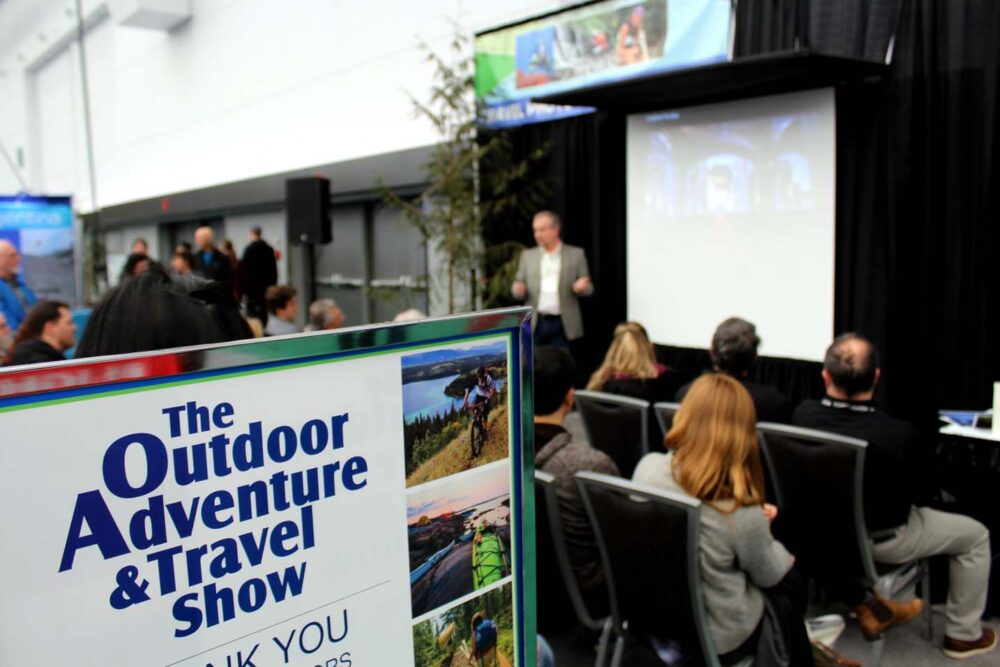 vancouver outdoor adventure and travel show talks