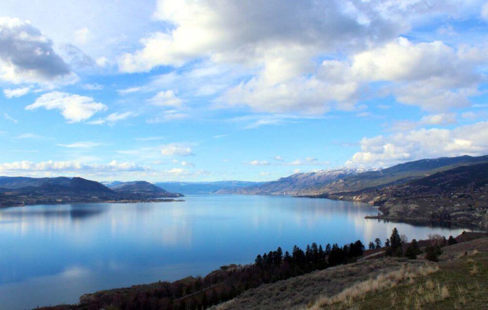 Okanagan Lake from Munson Mountain