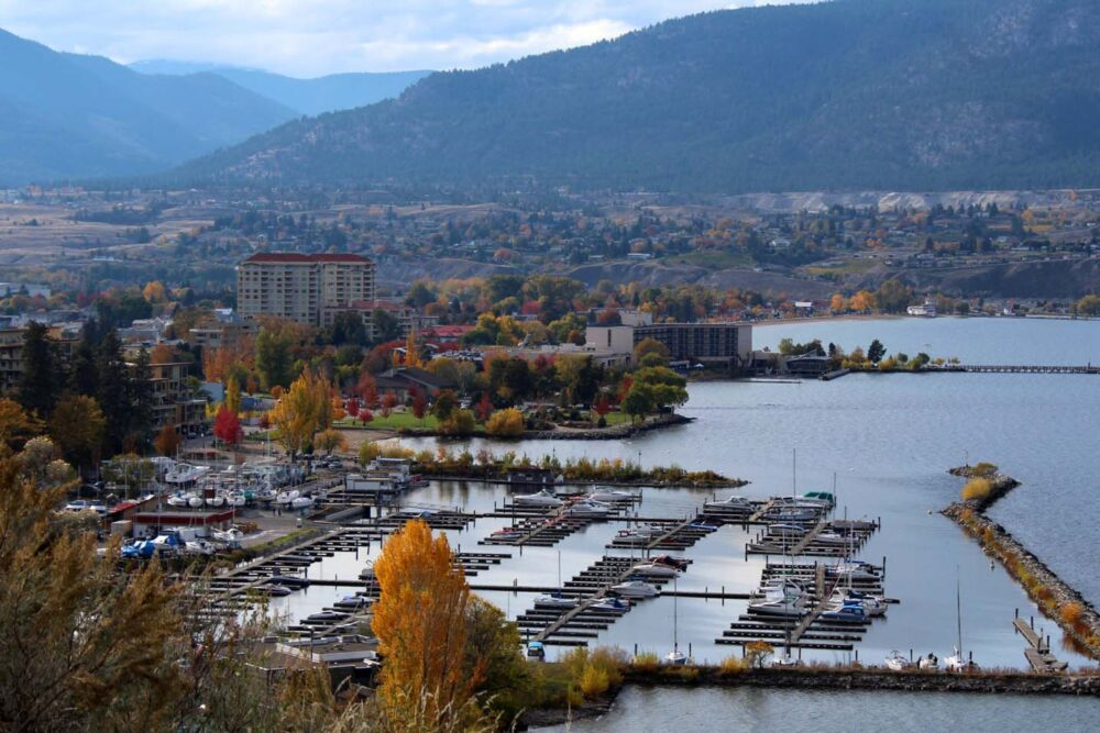 5 Unique Things To Do in Penticton, BC - View from KVR