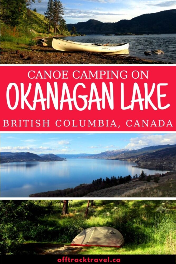 At over 120km long, Okanagan Lake is the magnificent centerpiece of British Columbia's Okanagan Valley region. Click here to discover a beautiful and completely free canoe camping trip on Okanagan Lake!