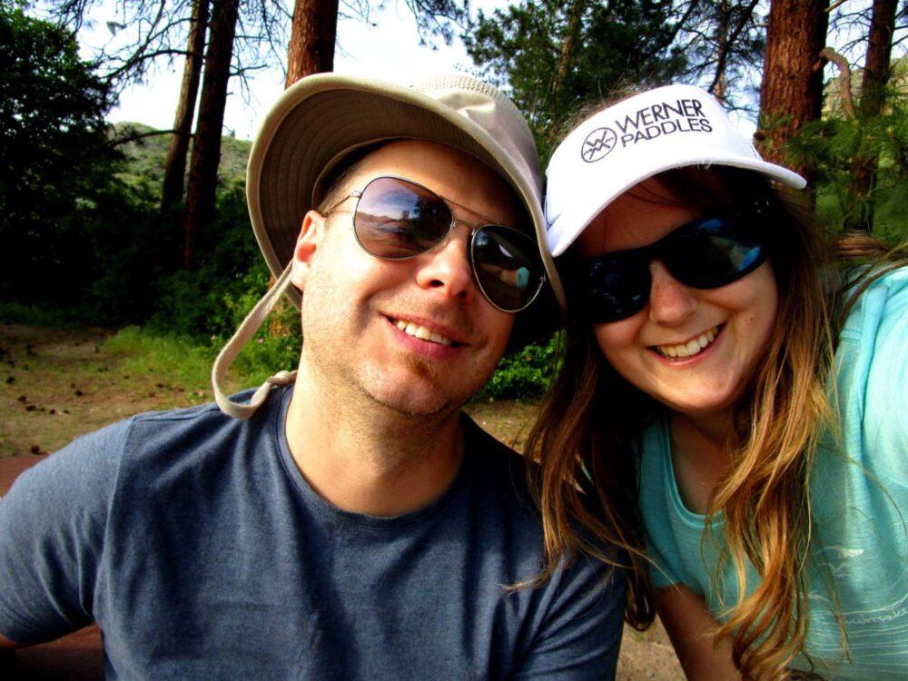 Gemma and JR at Okanagan Mountain Park