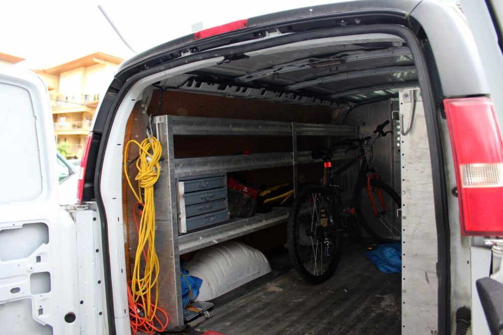 gmc savana van before conversion