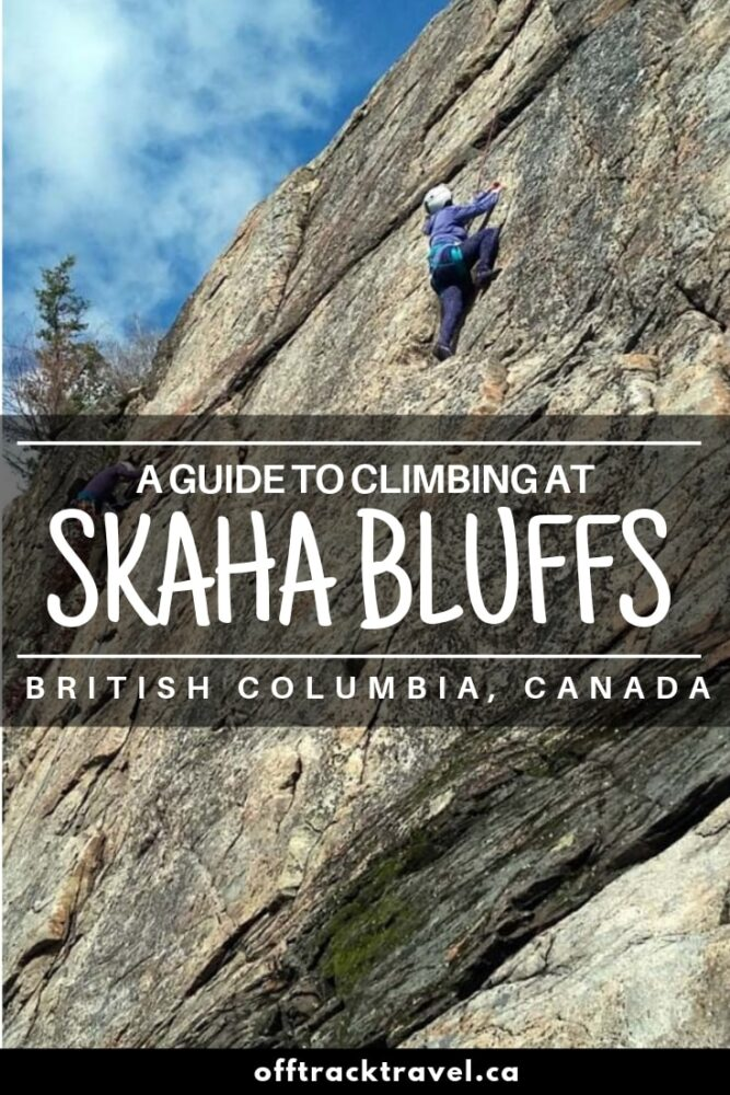 66 crags and over 1000 climbs can be found in three main canyons at Skaha Bluffs, British Columbia. The sheer variety and choice of routes in combination with the southern Okanagan's warm climate make Skaha Bluffs a major climbing destination not only in Canada, but also the world! offtracktravel.ca