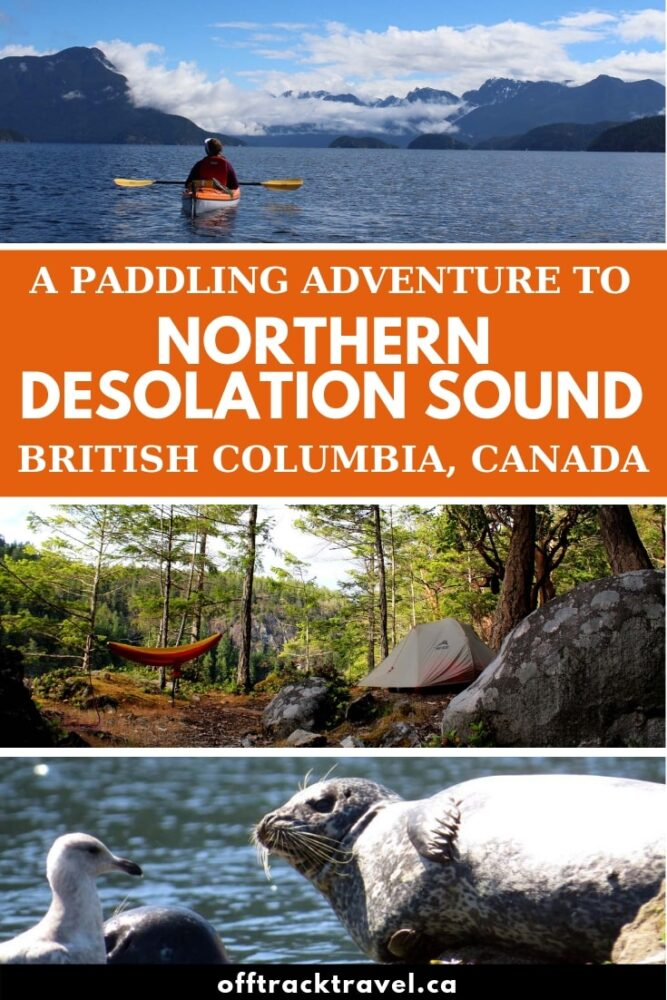 Warm waters, protected bays, towering rock bluffs and idyllic islands framed by a mountainous backdrop....Desolation Sound is simply drop dead gorgeous. The northern section is particularly wonderful for a kayaking trip and here's why! offtracktravel.ca