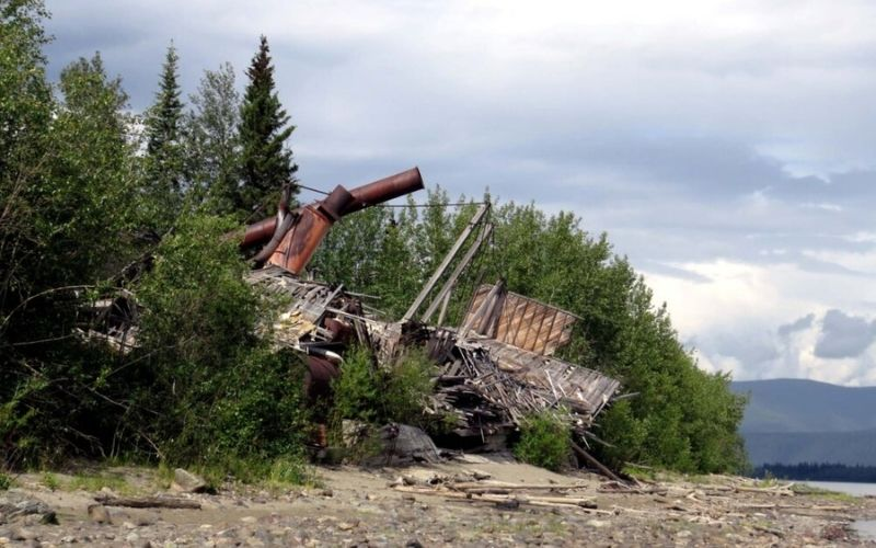 River Ghosts: Sternwheeler Graveyard, Dawson City