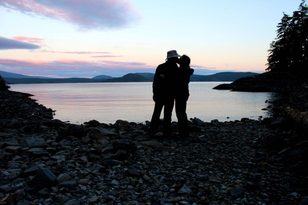 Camping on your own private island on the Sunshine Coast - Romantic Getaways in BC