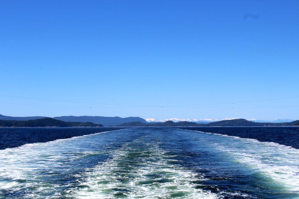 View from one of BC Ferries routes