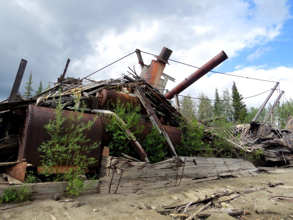 Things to do in Dawson City - Sternwheeler graveyard