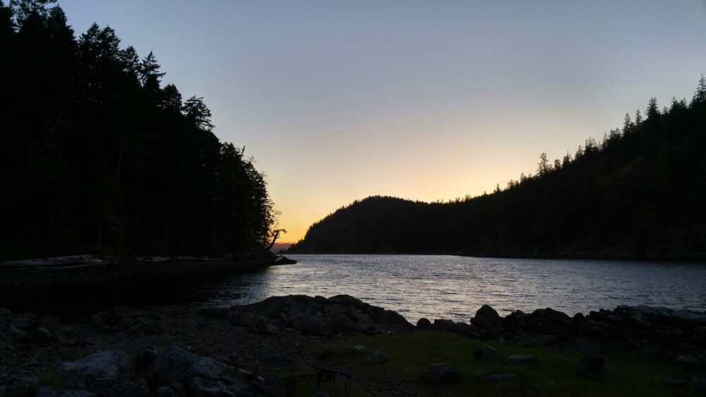 Desolation Sound sunset