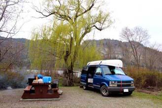A Southern Okanagan gem- Vaseux Lake campsite