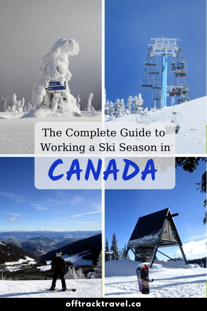 Want an office with epic mountain views and lunch breaks with runs down the slopes? Dream of picture-perfect powder days in the alpine with no one else in sight? Sounds like you should do a ski season in Canada! Here is what you need to know! offtracktravel.ca