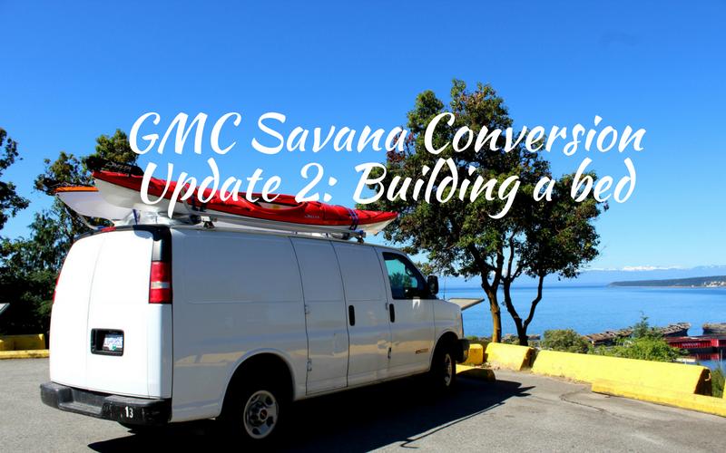 GMC Savana Conversion Update 2 Building A Bed