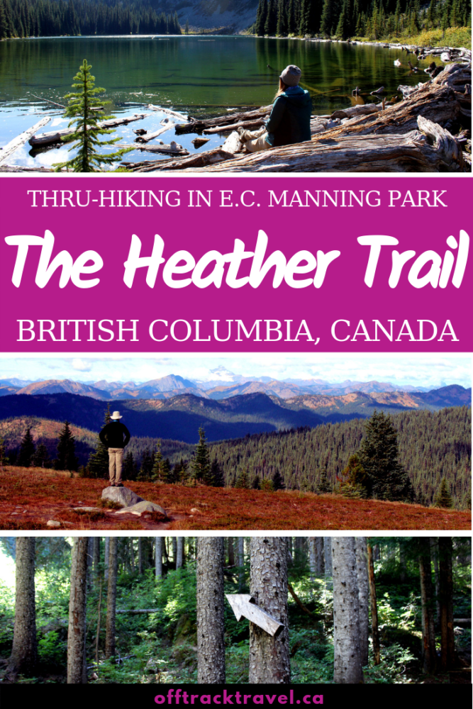 The Heather Trail offers a near-perfect backpacking experience in British Columbia, with stunning views, interesting terrain and great camping facilities. If you've only got time to do one summer hike in the BC mountains, the Heather Trail should be a strong contender! offtracktravel.ca