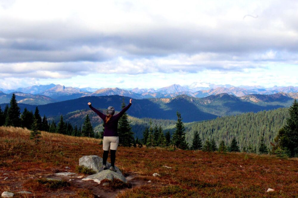 Manning Park hiking views - Choosing Working Holiday Travel Insurance