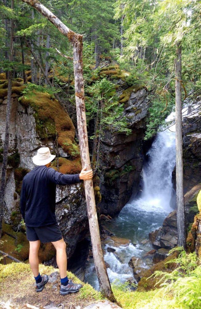 Nemo Falls in Valhalla Provincial Park