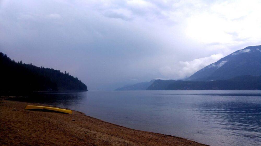 Rainstorm in Valhalla Provincial Park