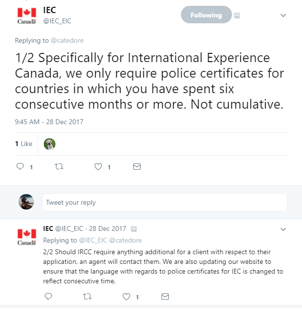 How to apply a working holiday visa canada iec 2018 police certificates these are required from any country or territory that you have spent six months or more since the age of 18 stopboris Images