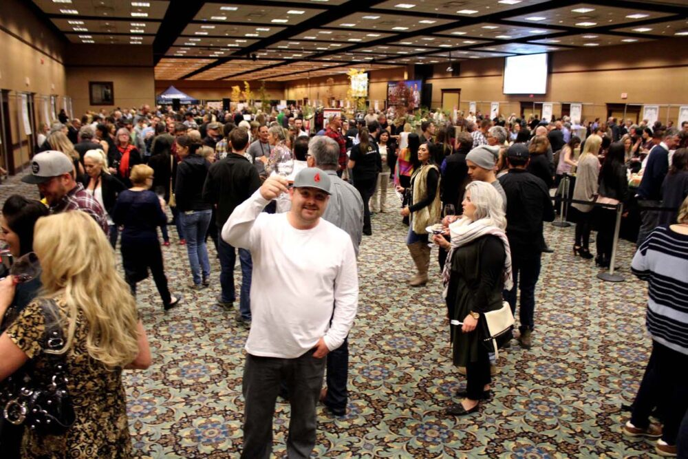Cropped wine festival at Penticton Trade and Convention Centre