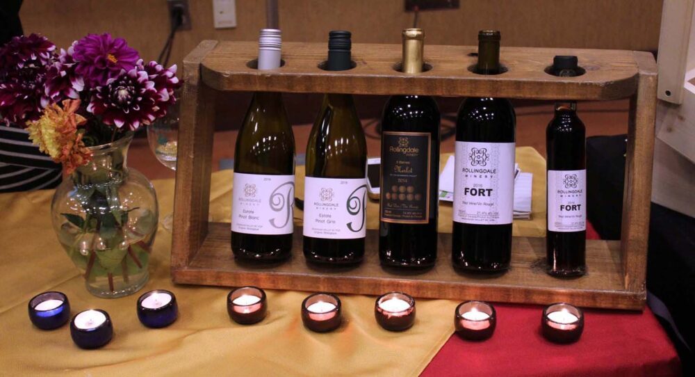 Rollingdale winery at Cropped wine festival, Penticton
