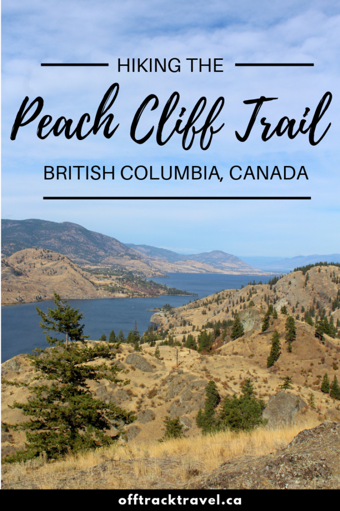 If your favourite type of hike is one with a view at the end, British Columbia's Okanagan Valley is definitely the place for you. The Peach Cliff trail is a great example, with the epic views stretching from Penticton in the north to Vaseux Lake in the south, bordered by sun kissed hills. This is a must do easy hike when in the southern Okanagan! offtracktravel.ca