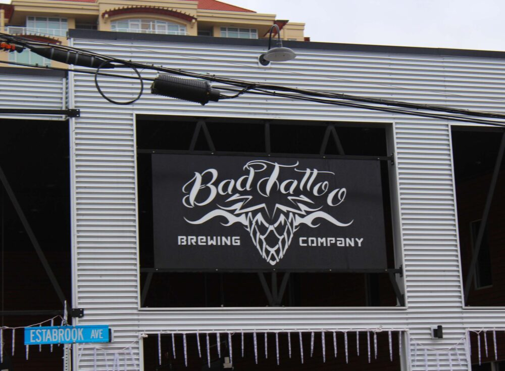 Bad Tattoo - one of Penticton's breweries