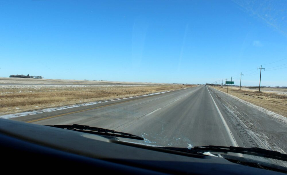 Essential Tips for a Winter Road Trip in Canada - View of the Prairies