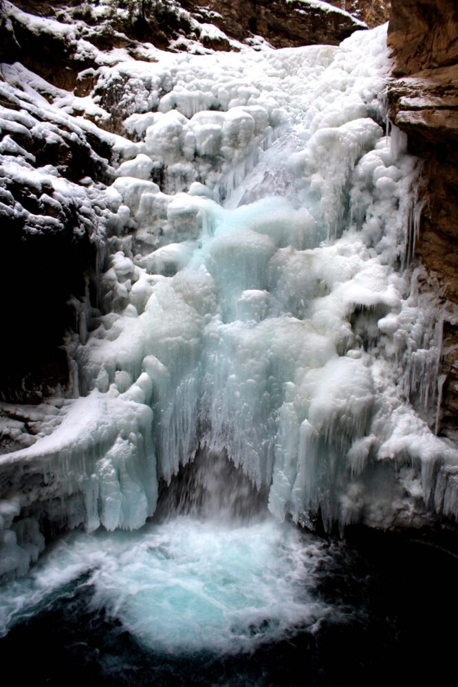 65 Things to do in Canada in winter - Johnston Canyon, Alberta
