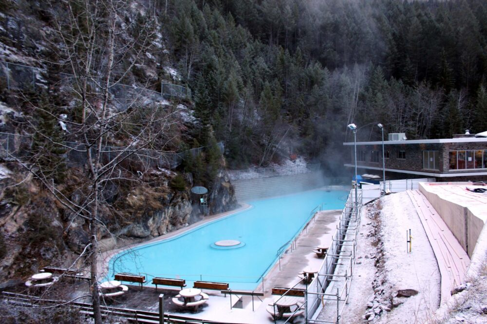 7 Reasons Why You Should Go on a Winter Road Trip in Canada-hot springs