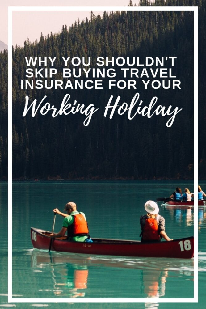 I personally wouldn't travel anywhere without travel insurance! Some countries, such as Cuba, actually require travellers to have travel insurance for the duration of their trip. Having a valid travel insurance policy is often mandatory to go on a working holiday too.  But this shouldn't be the main reason you buy travel insurance. Travel insurance is useful for so many other reasons and click here to discover why! offtracktravel.ca