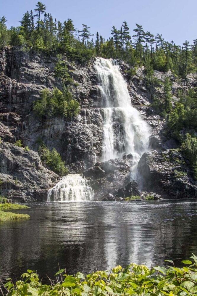 Bridal Veil Falls, Northern Ontario - 10 Amazing Places to see in Eastern Canada