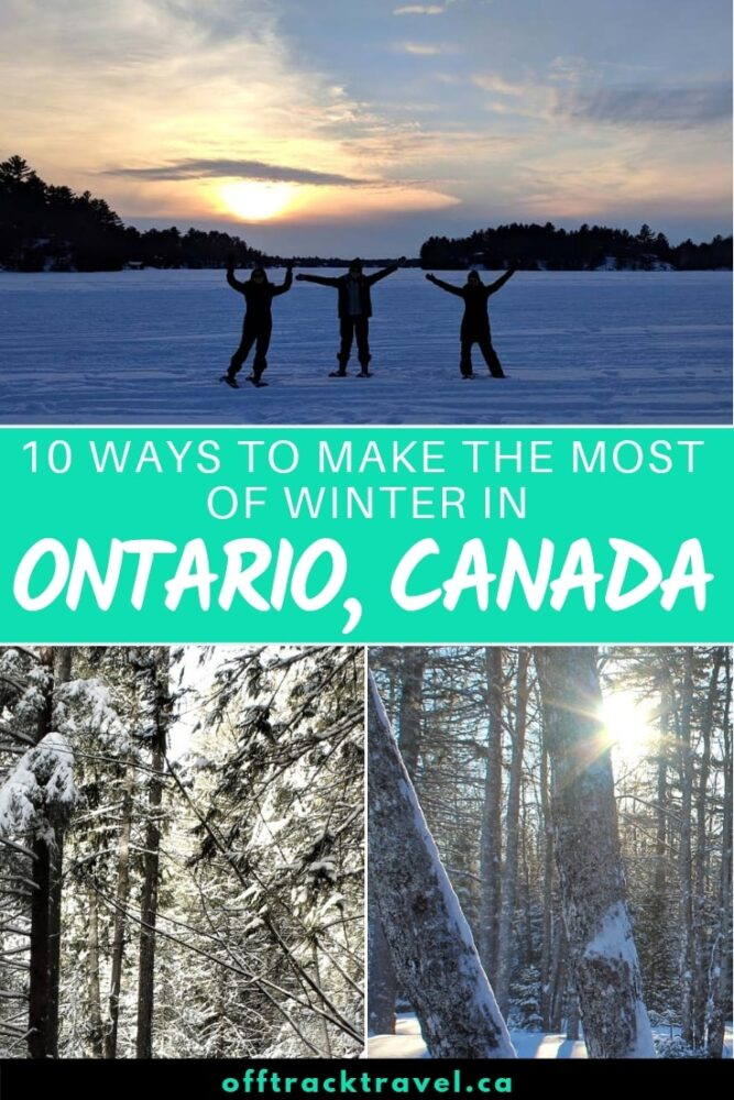 Ontario has famous summers, but actually, it's spectacular during winter. The snow itself is beautiful, there are plenty of seasonal activities, and so long as you wear layers you'll be snug in Ontario's winter wonderland. Here are 10 ways to make the most of winter in Ontario, Canada! offtracktravel.ca