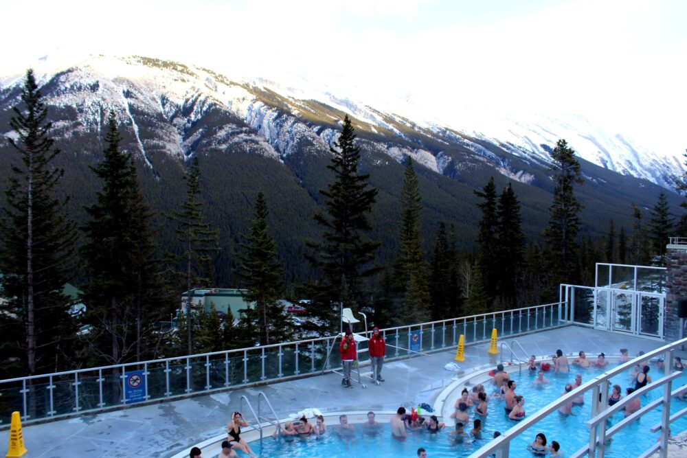 Unmissable Stops on a Canadian Rockies Road Trip: Banff Upper Hot Springs